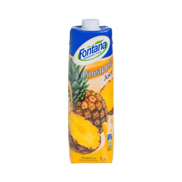 FONTANA - Pineapple Juice - 1L