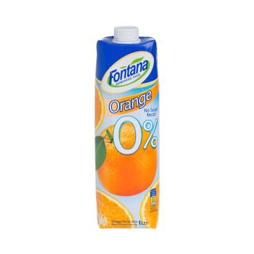 FONTANA - Orange Juice no Sugar - 1L