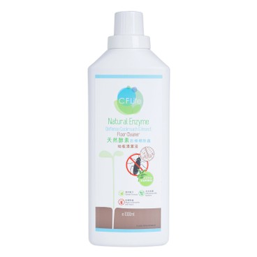 CF LIFE BY CHOI FUNG HONG - Natural Enzyme Defense Cockroach Insect Floor Cleaner - 1L