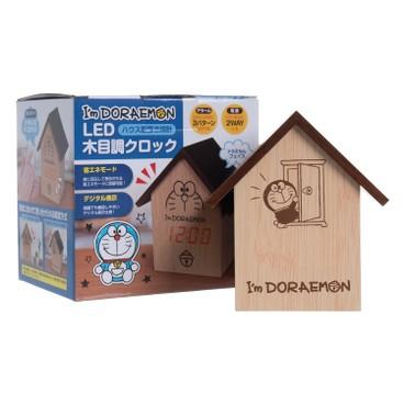 HAC - DORAEMON LED木紋鐘 - PC