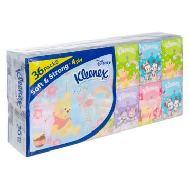 健力氏 - 迪士尼櫻花迷你紙手巾 - 36'S