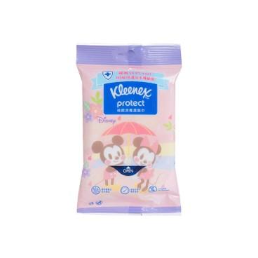 健力氏 - 迪士尼櫻花消毒濕紙巾(隨機款式) - 10'S