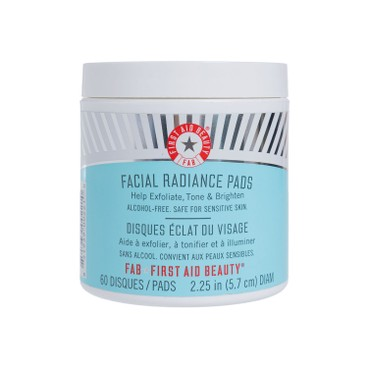 FIRST AID BEAUTY - Facial Radiance Pads - 60'S