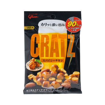 GLICO - Cratz Fried Chicken Almond Snack - 42G