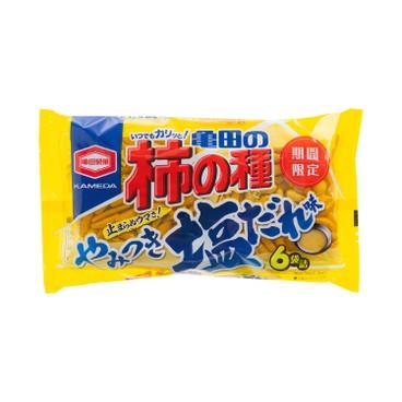 KAMEDA 龜田 - 米果-鹽味醬汁味 (期間限定) - 182G