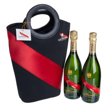 MUMM - Champagne Wit Twin Bag - SET