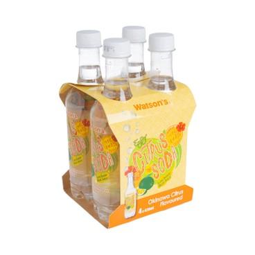WATSONS - Soda Water okinawa Citrus Flavoured - 420MLX4