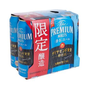 三得利 - 初釀鑽麥愛爾啤酒 (巨罐裝) - 500MLX6