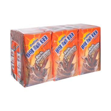 OVALTINE - RICH CHOCOLATE MALTED MILK DRINK - 250MLX6