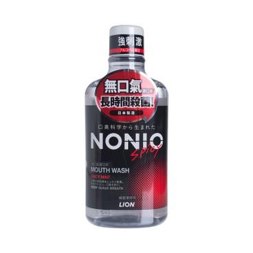 獅王NONIO - 無口氣漱口水-檸薑薄荷味 - 600ML