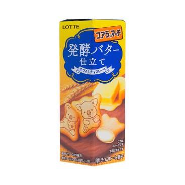 樂天 - 熊仔餅-發酵牛油味 (期間限定) - 48G