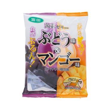 宮田 - 蒟蒻啫喱-提子及芒果味 - 246G