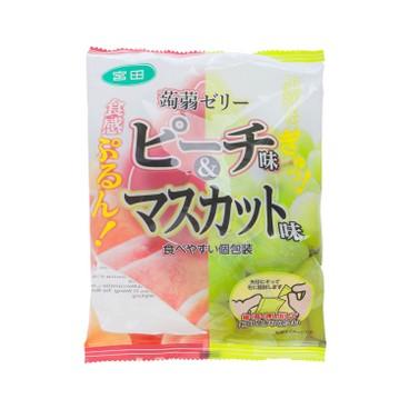 宮田 - 蒟蒻啫喱-香桃及青提味 - 246G