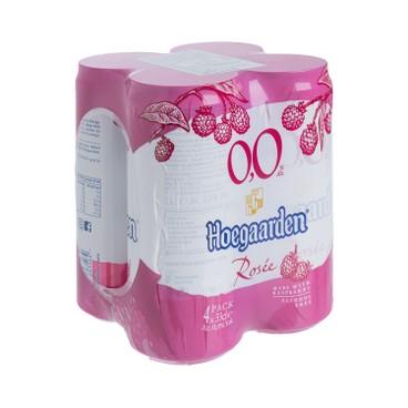 HOEGAARDEN - HOEGAARDEN ROSEE 0,0% (CAN) - 330MLX4