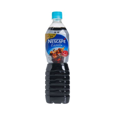 NESCAFE 雀巢(平行進口) - EXCELLA 樽裝無糖珈琲 - 900ML