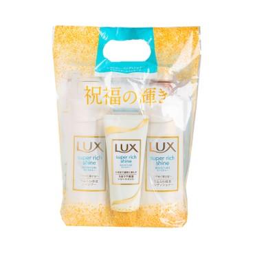 LUX (平行進口) - 保濕洗護套裝 + 護髮膏 - 430GX2+100G