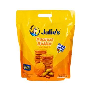 JULIE'S - Sandwich Biscuit peanut - 360G