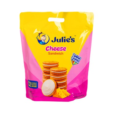 JULIE'S - Sandwich Biscuit cheese - 360G