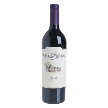 CHATEAU STE. MICHELLE - Red Wine Columbia Valley Merlot - 750ML