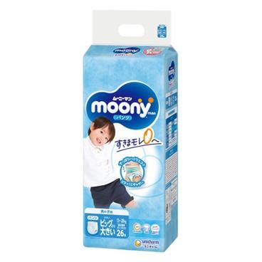 MOONY - MAN超透氣學行褲加加大碼(男仔) - 26'S