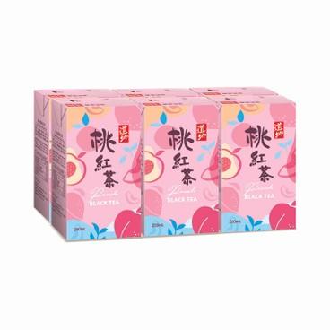 TAO TI - Peach Black Tea - 250MLX6
