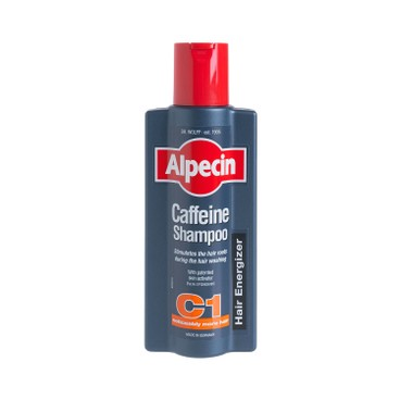 ALPECIN - Caffeine Shampoo C 1 Strengthens Hair Growth And Reduces Hair Loss - 375ML