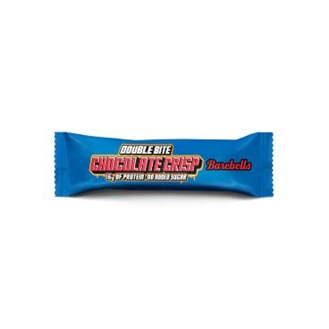 BAREBELLS - PROTEIN BAR-DOUBLE BITE CHOCOLATE CRISP - 27.5X2