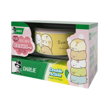 DARLIE - Double Action Toothpaste Package With Free Sumikko Container Random Pattern - 200GX2