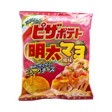 CALBEE - Mentaiko Salad Style Chips - 60G