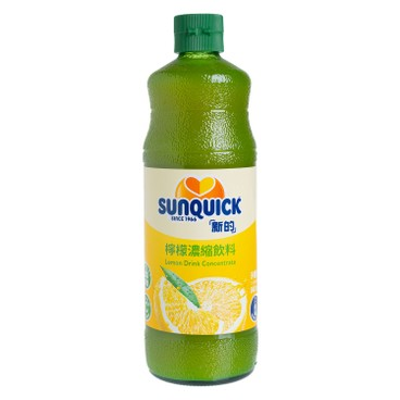 SunQuick - Lemon Cordial - 840ML