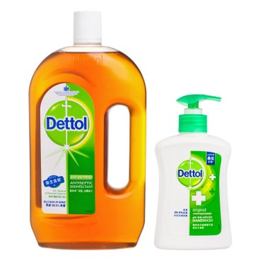 DETTOL - Antiseptic Liquid Free Hand Wash - 750ML+150G
