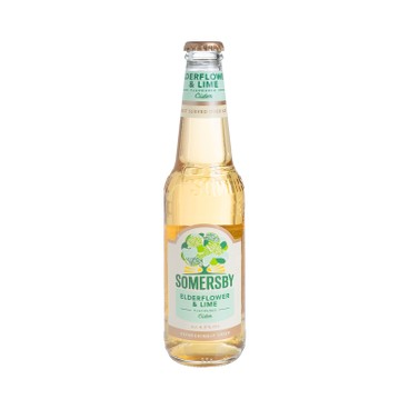 SOMERSBY - Elderflower Lime Apple Cider - 330ML