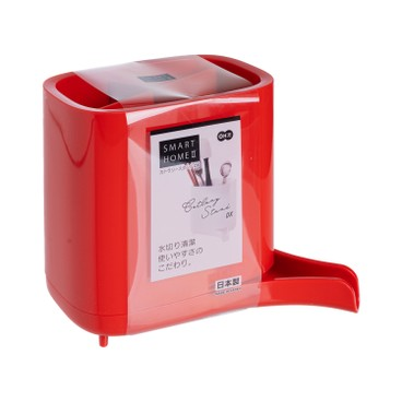 OHE - 瀝水餐具架{紅色} - PC