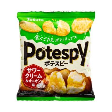 TOHATO - Potato Chips sour Cream Flavour - 52G
