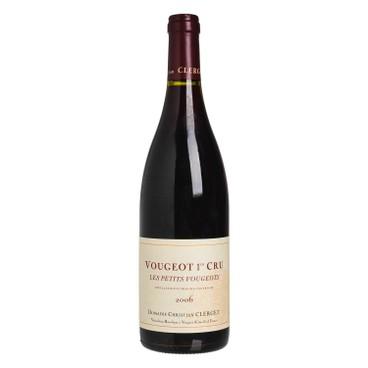 DOMAINE CHRISTIAN CLERGET - Red Wine Vougeot 1 er Cru Les Petits Vougenots 2006 - 750ML