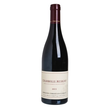 DOMAINE CHRISTIAN CLERGET - Red Wine Chambolle Musigny 2015 - 750ML
