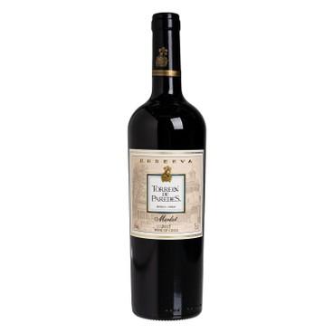 TORREON DE PARADES - Red Wine Reserve Merlot - 750ML