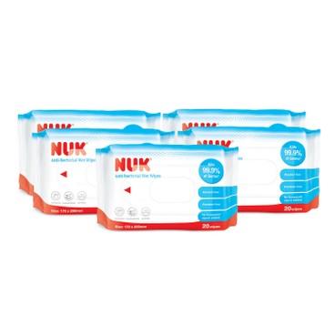 NUK - Anti Bacterical Wet Wipes Set - 20'SX3