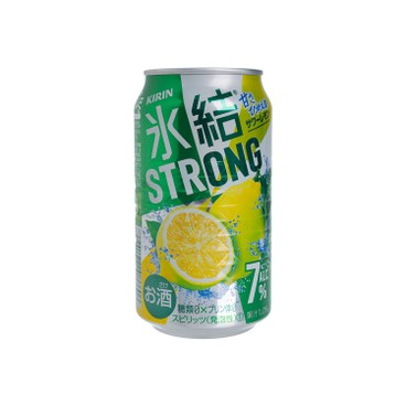 KIRIN - Refreshing Lemon T Juice Alcohol Drink - 350ML