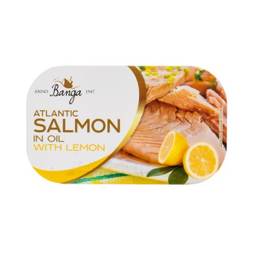 BANGA - Salmon In Oil With Lemon - 120G