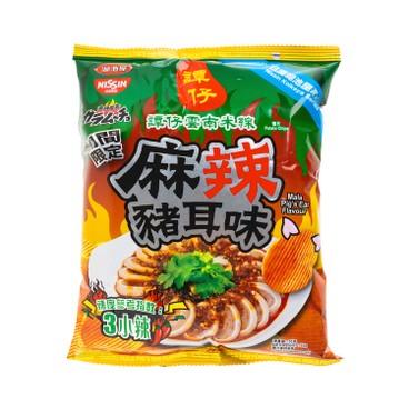 NISSIN - Karamucho Tam Jai Mala Pigs Ear Flavour Potato Chips - 55G