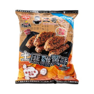NISSIN - Karamucho Tam Jai Sam Gor Tufei Chicken Wings Flavour Potato Chips - 55G