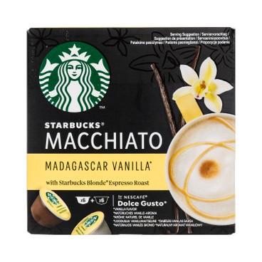 STARBUCKS 星巴克 - 馬達加斯加雲尼拿奶泡咖啡 - 12'S
