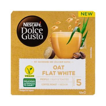 NESCAFE DOLCE GUSTO - Oat Flat White vegan - 12'S
