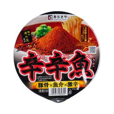 壽賀喜屋 - 辛辛魚拉麵 - 136G