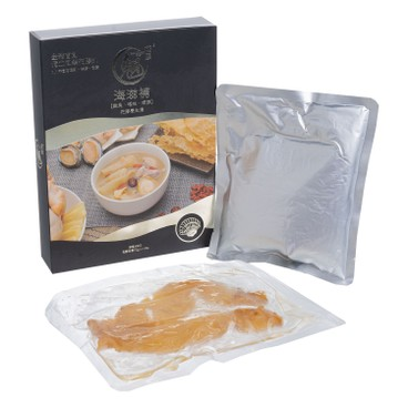 MG COLLAGEN - Fish Maw Soup With Abalone Conch Scallops Contains Danmark Dried Cod Fish Maw - 400G