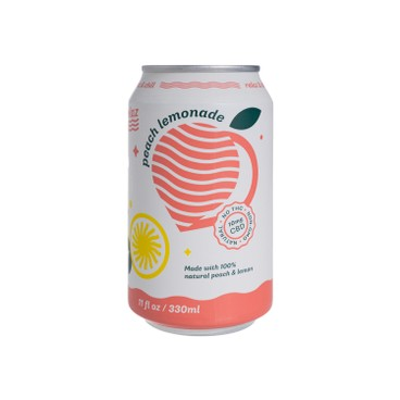 RELAZ - Cbd Soda Peach Lemonade - 330ML