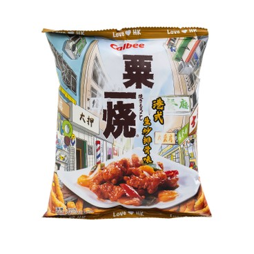 CALBEE - Hong Kong Style Sweet And Sour Pork Flavoured Grill a corn - 60G