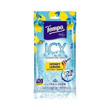 TEMPO - Cooling Wetwipes honey Lemon - 10'S