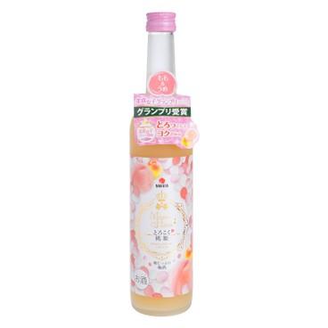 中田 - 桃姫白鳳桃梅酒 - 550ML